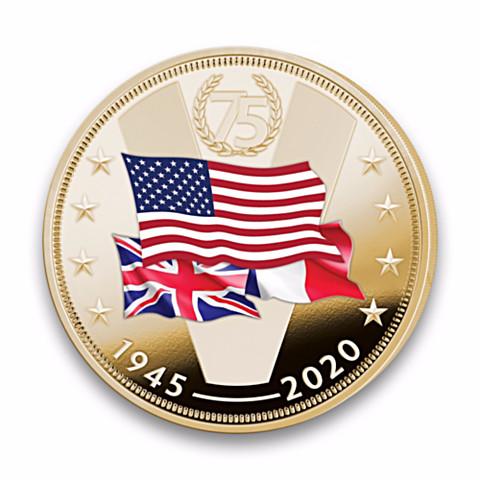 Отчеканили: в США выпустили монету с союзниками во Второй мировой войне без СССР История,ссср