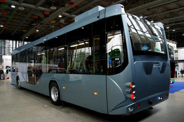 В Москве представлен электробус вологодской компании «Стройтранс» события,Новости,сделано у нас