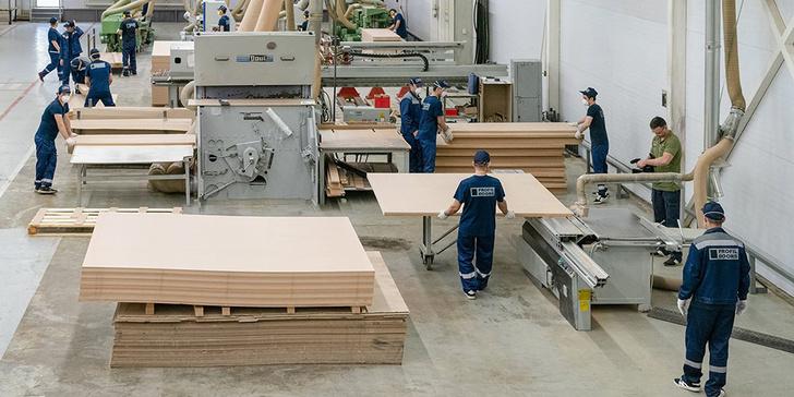 В Москве запущен производственный комплекс по изготовлению межкомнатных дверей и фурнитуры события,Новости,сделано у нас