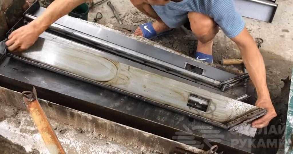 Как изготовить и установить бетонные штакеты для забора Самоделки