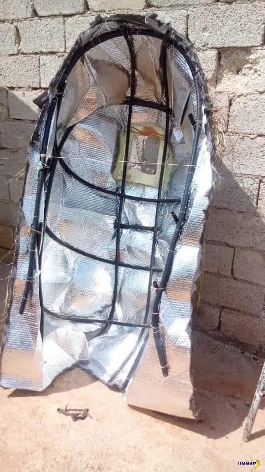 Тепловой камуфляж в Сирии Интересное
