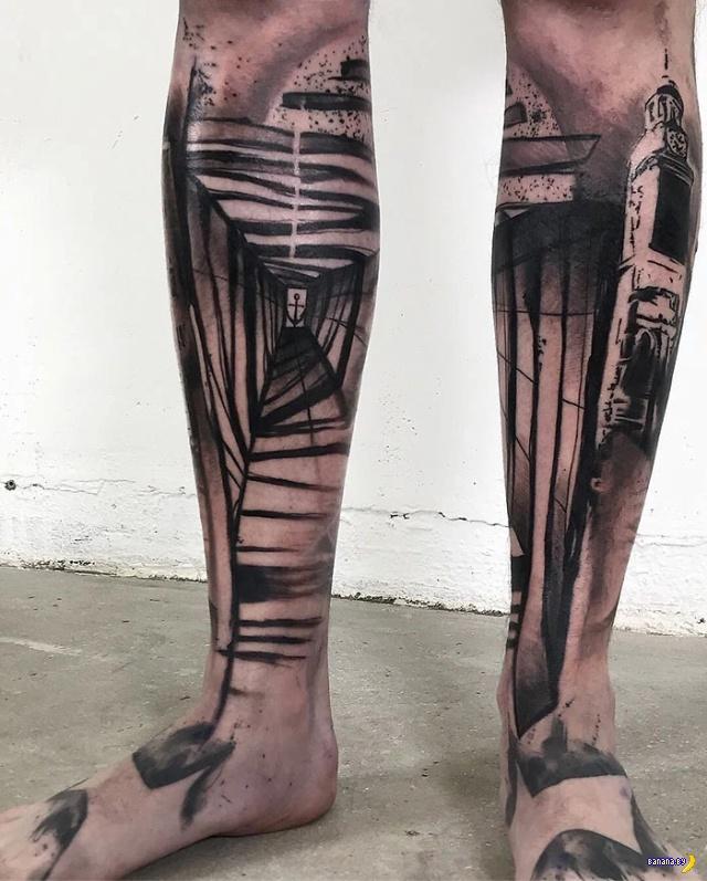 Татуировки на зависть — 120 — Ноги! Интересное,татуировки