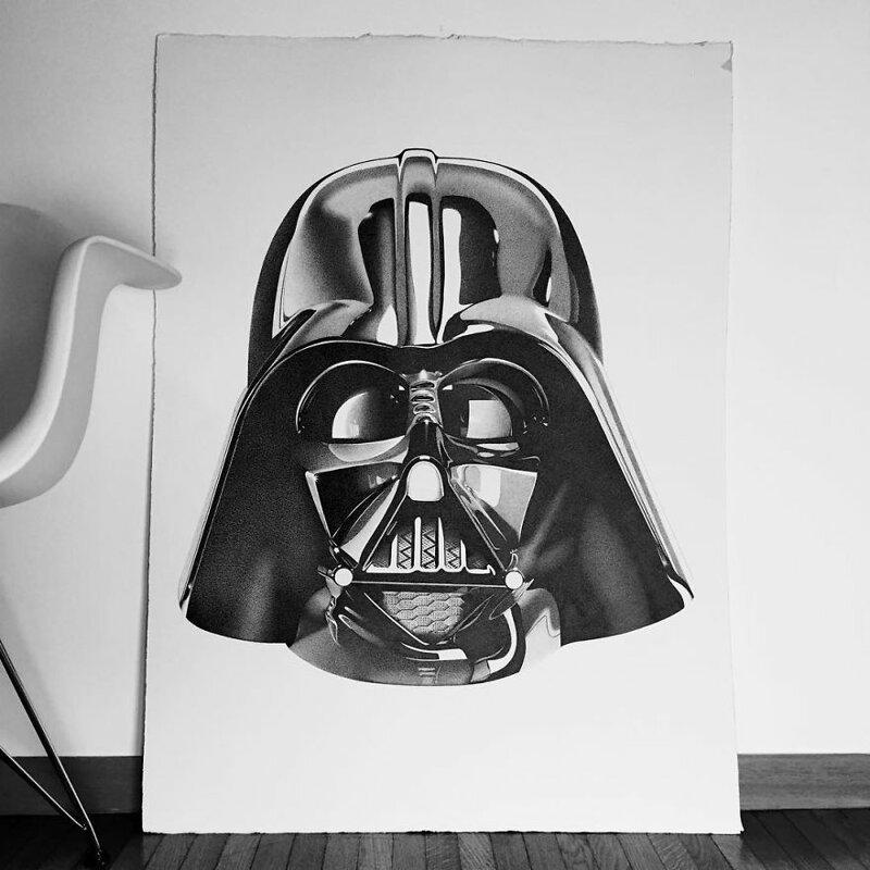 Потрясающие гиперреалистичные рисунки Алессандро Пальи   Интересное