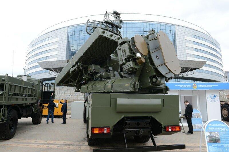 Что показали на международной выставке вооружений в Минске Интересное