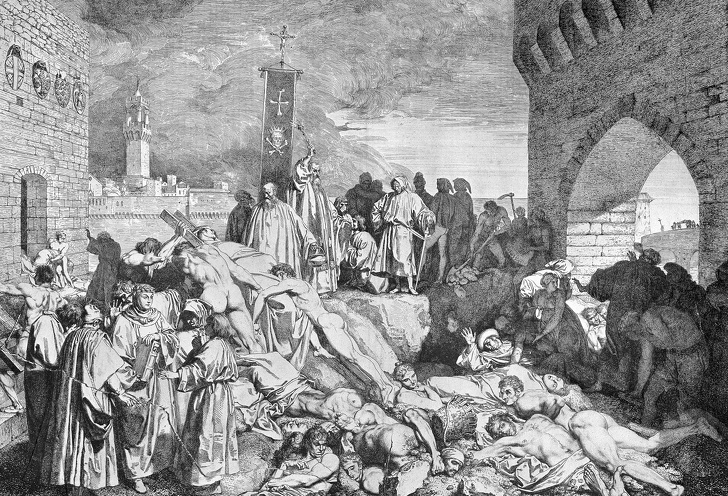 700 лет назад в Европе бушевала чума. Ее последствия мы ощущаем до сих пор Интересное