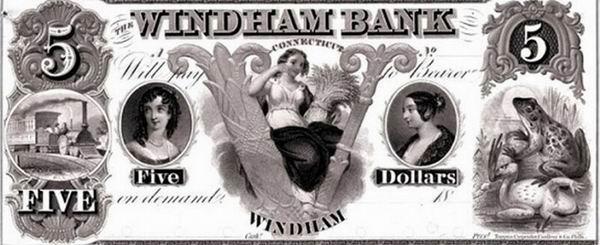 10 необычных банкнот со странной символикой и их невероятные истории Интересное