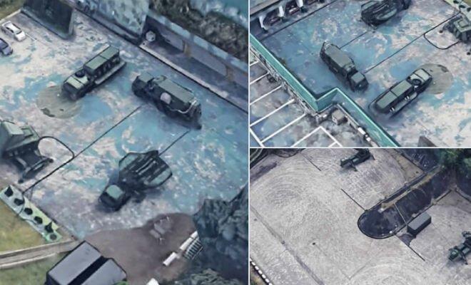 Гугл случайно рассекретил новейшую военную базу Китая   Интересное