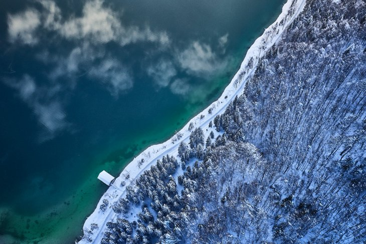 Завораживающие фотографии альпийского озера Сильвенштайн
