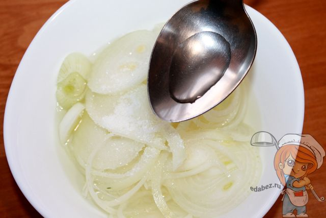 Салат Чиполлино из лука. Рецепт до смешного прост! кулинария,салаты