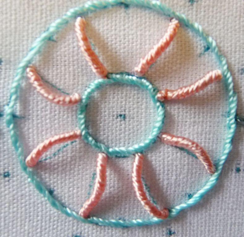 Вышивка рококо - розы: мастер-класс вышивка,рукоделие,своими руками