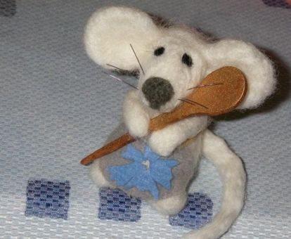 Очаровательные игрушки из войлока игрушки,из войлока,своими руками,сделай сам