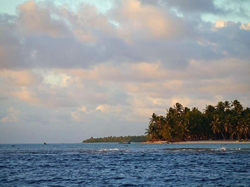 В городе посреди Тихого океана, проживает 62 человека, которые являются потомками одного мужчины