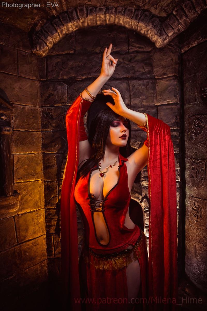 Изумительная Кайлина из Prince of Persia Игры,косплей
