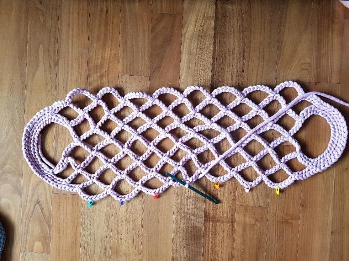 Модная сумка-сетка своими руками: мастер-класс. Справятся даже начинающие рукодельницы вязание,женские хобби,рукоделие,своими руками,сумка