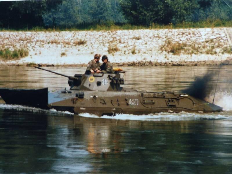 «Рысь» на службе бундесвера. Боевая разведывательная машина SpPz 2 Luchs оружие