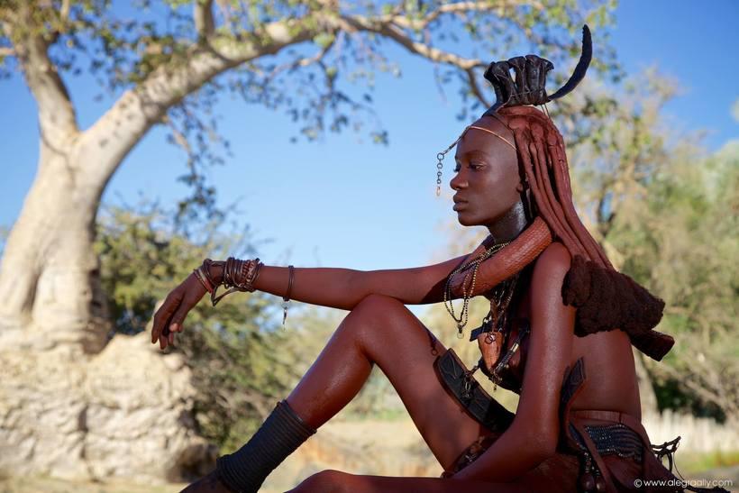 Народ химба: где живут самые красивые женщины Африки мир,страны,туризм