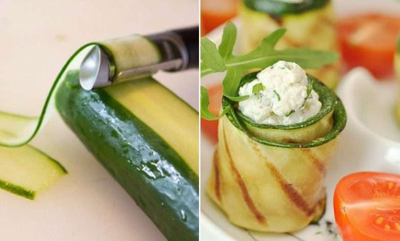 10 трюков с овощечисткой, о которых вы не знали полезные советы,разное