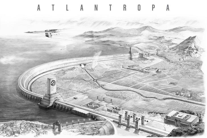 Грандиозные мегаструктуры и макроинженерные проекты в истории Путешествия,фото