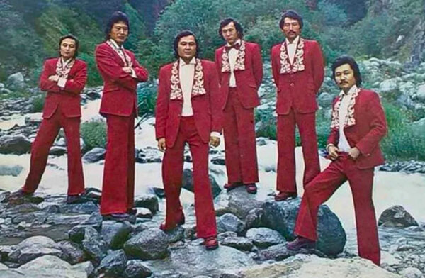 Султан казахской эстрады – ВИА «Дос-Мукасан» 70,группа