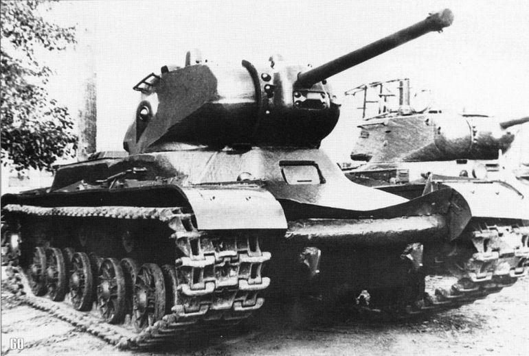 КВ - танк с тяжелой судьбой машины, танки