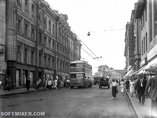 Ярославский двухэтажный троллейбус интересное,история,СССР,транспорт,троллейбусы