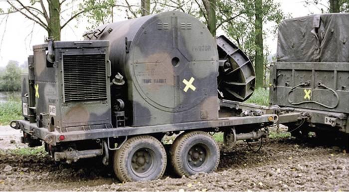 Система дистанционного минирования M128 GEMSS оружие