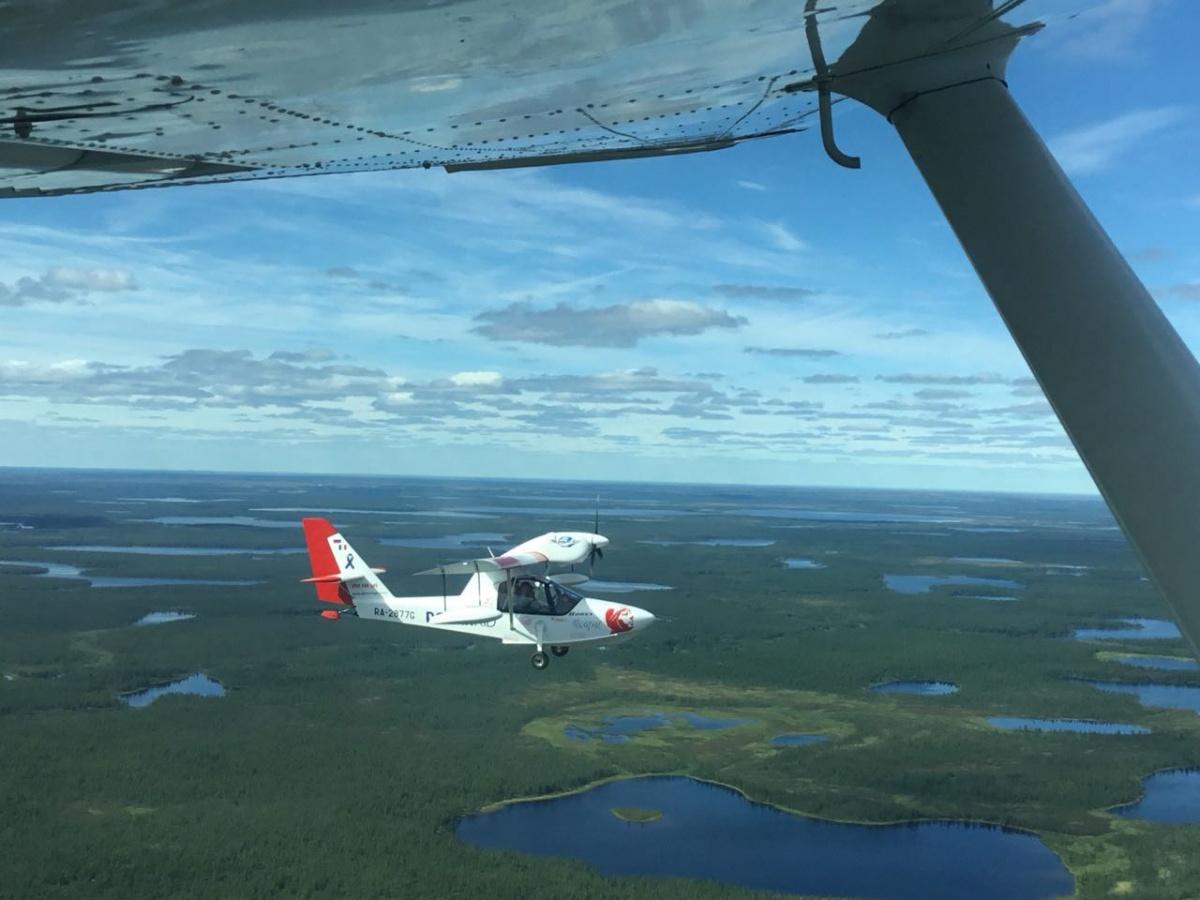 Облетели вокруг света без поломок: самарские самолёты-амфибии будут продавать за рубежом Авиация