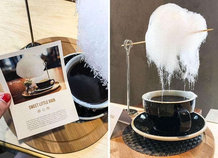 Необычная подача кофе в одном кафе в Шанхае сделало его очень популярным страны,туризм
