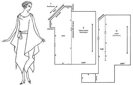 Очень простые и красивые ретро-выкройки одежда,ретро выкройки