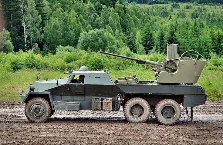 Послевоенные зенитные установки Чехословакии оружие