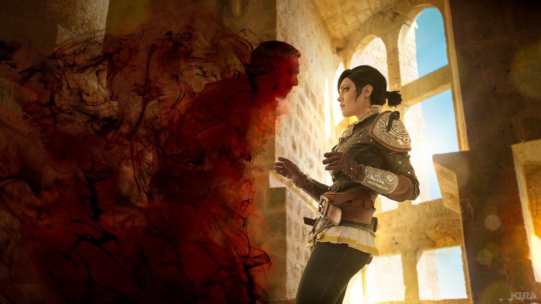 Коварная магия: Прелестная Сианна из Ведьмак 3: Кровь и Вино Игры,косплей