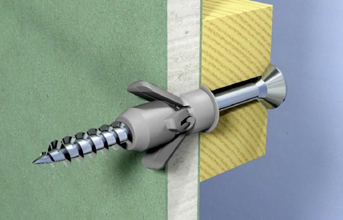 Простой способ надежно вкрутить саморез в рыхлую стену