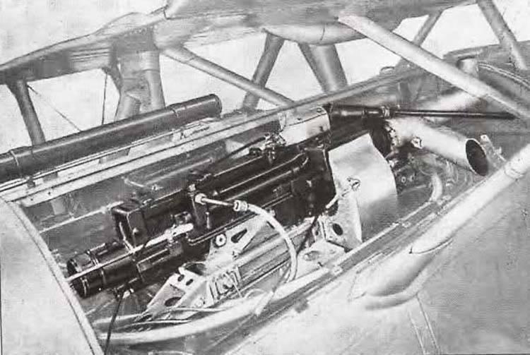 Оружие Второй мировой. Авиационные пулемёты оружие