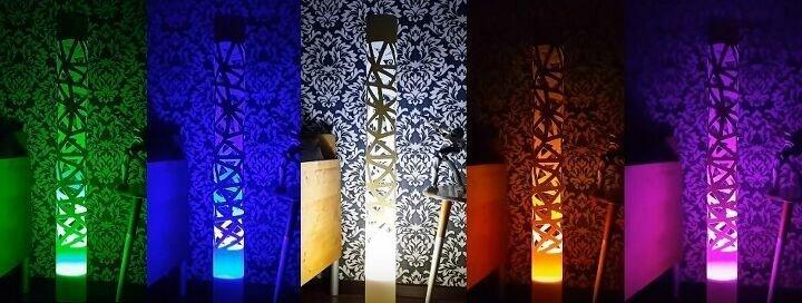 Светильник из трубы ПВХ своими руками cветильник из пвх,своими руками,сделай сам