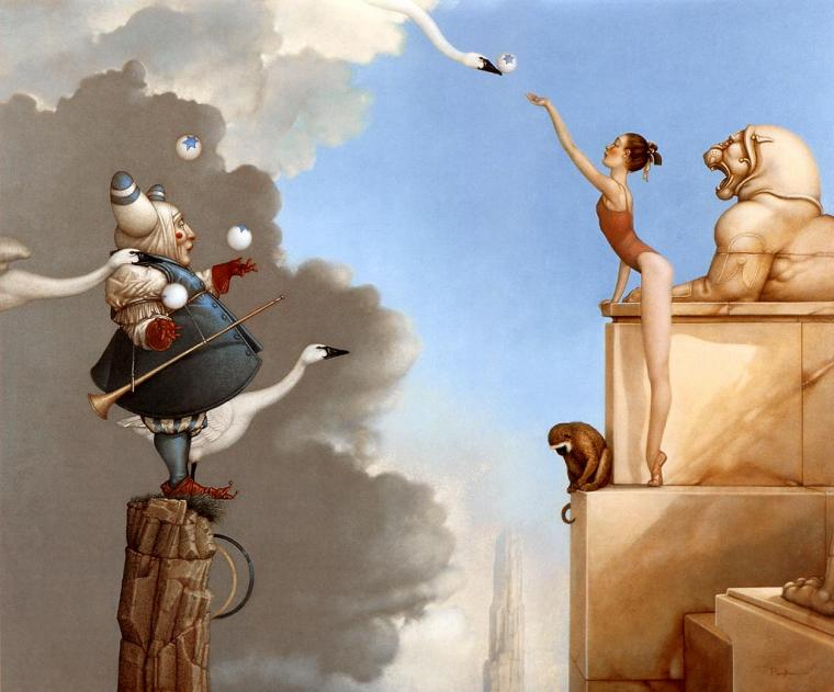 Магические картины Michael Parkes живопись