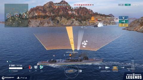 Обзор World of Warships: Legends — «пекабоярам» на зависть arcade,pc,world of warships,Аркады,Игры