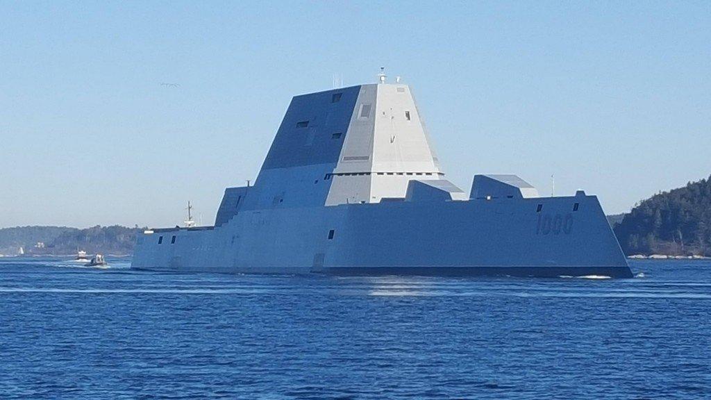 Самый дорогой американский эсминец меняет сферу деятельности Армия и флот
